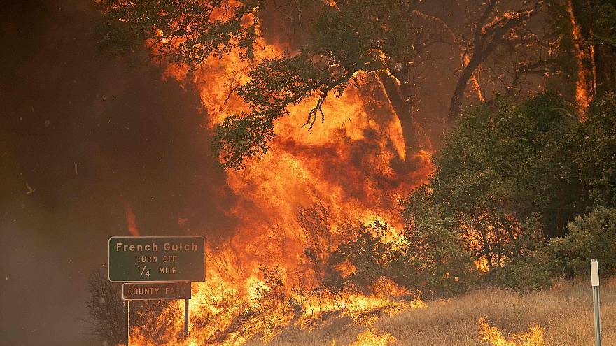 Image: US-WILDFIRES-CALIFORNIA-WILDFIRE-fire