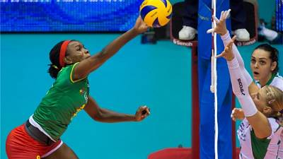 African women volleyball Olympic qualifiers kick off in Cameroon