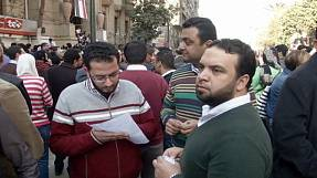 Egyptian doctors protest against alleged police abuse