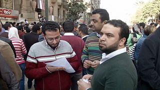 Mısır'da doktorlar sokağa indi