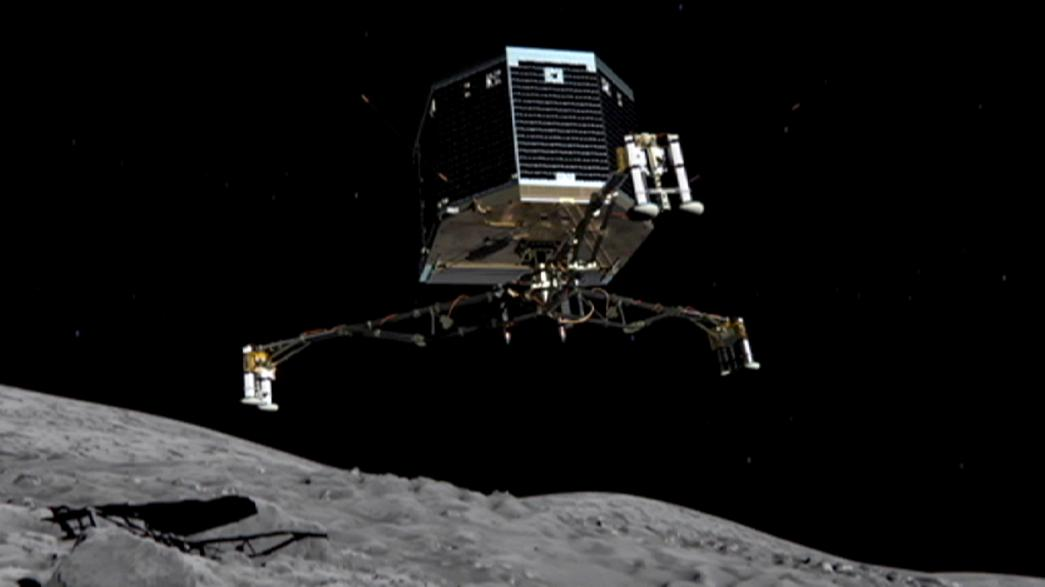 Philae probe probably 'covered in dust and too cold to operate'