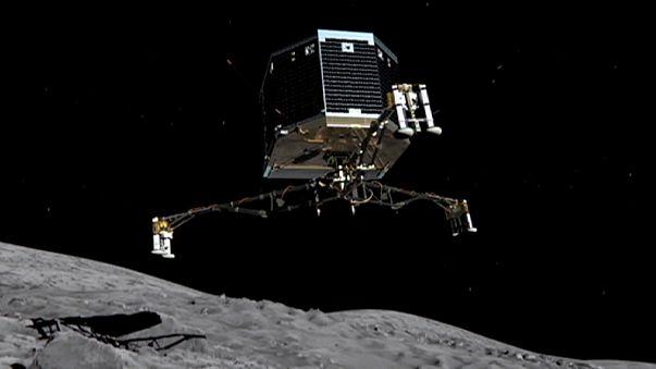 Philae auf Komet Tschuri: Forscher entlassen Roboter in den ewigen Winterschlaf
