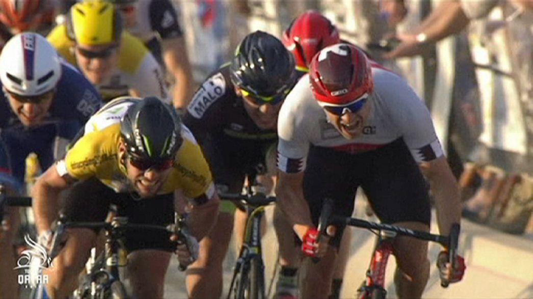 Radsport - Mark Cavendish gewinnt die Qatar-Rundfahrt