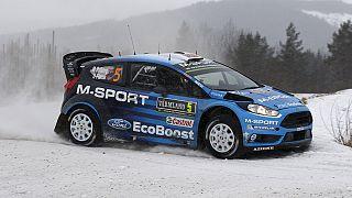 Ogier führt bei der Rallye Schweden