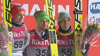 درخشش اسکی باز اسلوونی در رقابتهای اسکی پرش ویکرسوند