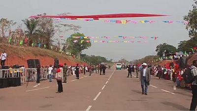 Le premier tronçon de la route Congo-Cameroun inauguré
