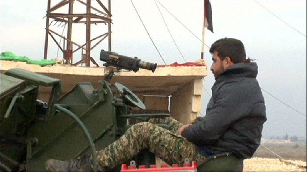 Syrie : l'armée syrienne domine maintenant les hauteurs d'Alep