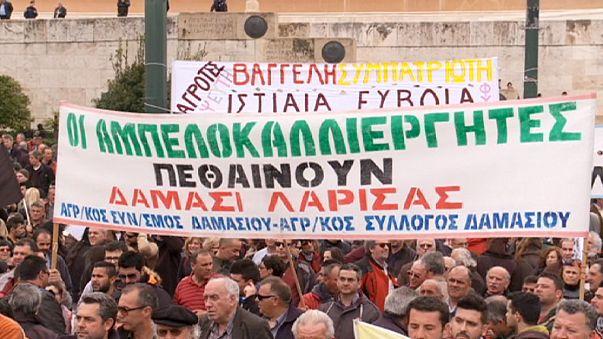 Grèce : les paysans ne baissent pas les bras