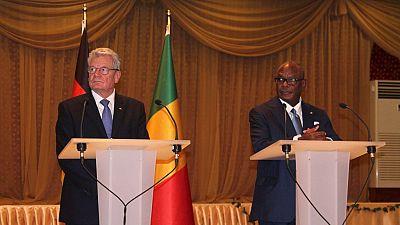 Mali : visite du président allemand