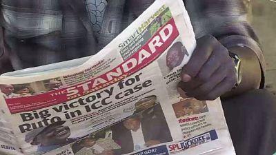 Affaire Ruto à la CPI : l'enthousiasme de la presse kényane