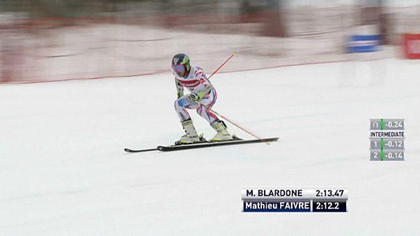 Französischer Doppelsieg beim Riesenslalom
