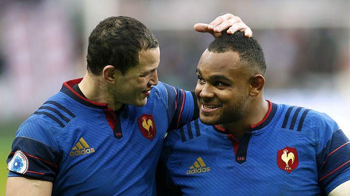 Кубок шести нация. Франция одолела Ирландию