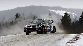 Snow continues to blight Sweden Rally as Ogier dominates