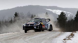 Ogier behauptet seine Führung bei der Rallye Schweden