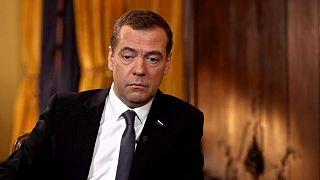 """ESCLUSIVO, Dimitri Medvedev su Euronews: """"in Siria negoziare a oltranza o sarà il caos"""""""