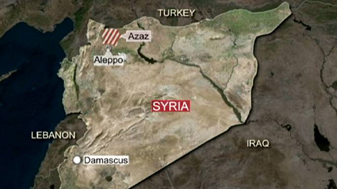 Turkish forces attack Syrian and Kurdish positions in northern Syria