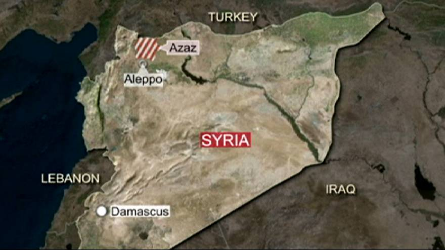 Турция обстреляла курдов на территории Сирии