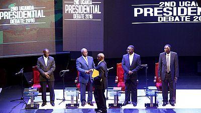 History as Uganda's Yoweri Museveni attends presidential debate