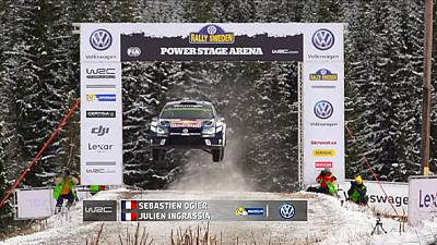 France's Sebastien Ogier rules the roost after shortened Sweden Rally