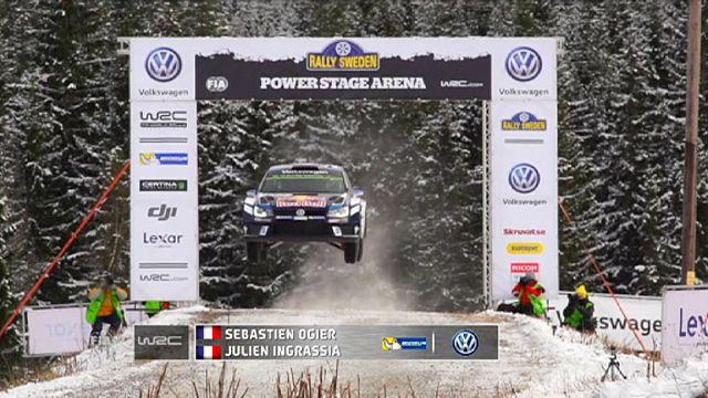 France's Sebastien Ogier rules the roost after shortened Sweden Rally