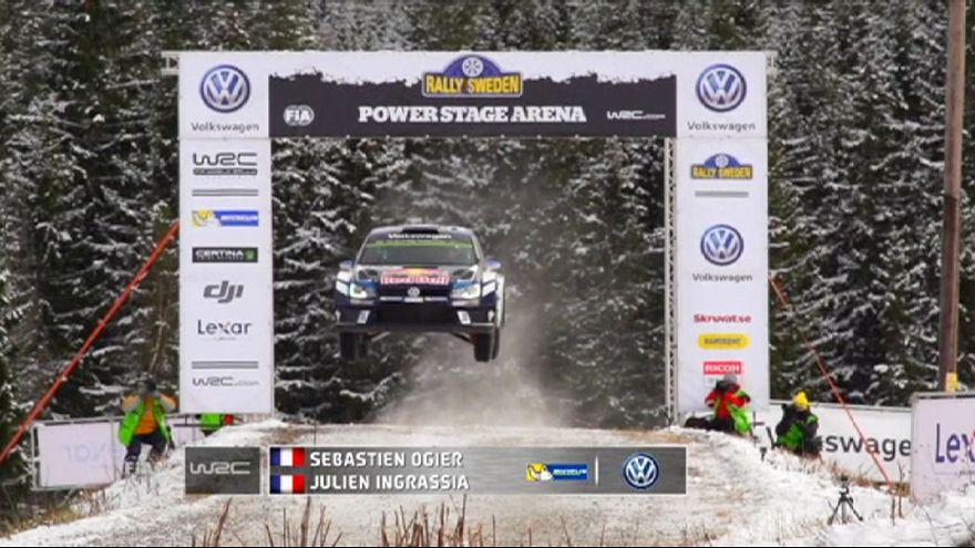 WRC: Κυρίαρχος ο Οζιέ και στη Σουηδία