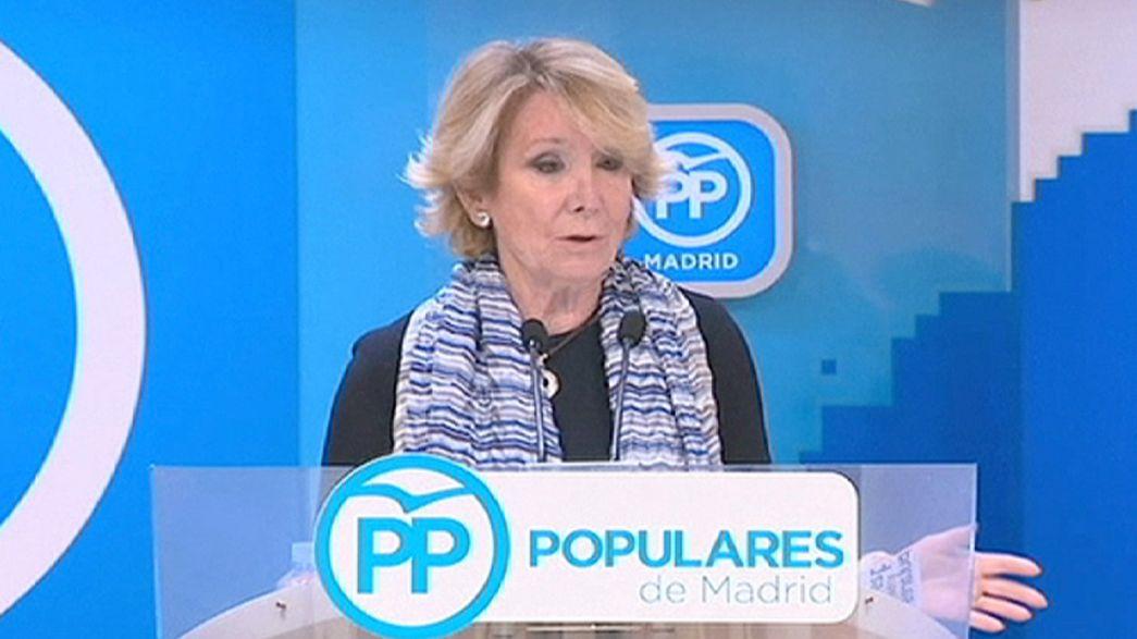 Esperanza Aguirre dimite como presidenta del Partido Popular de Madrid