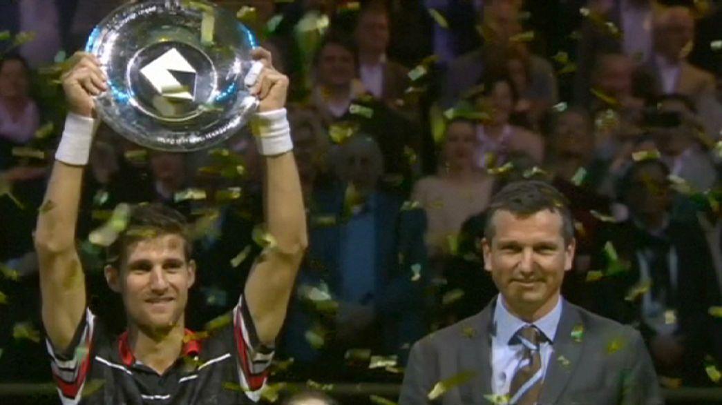 Tenis: Rotterdam'da şampiyon Klizan