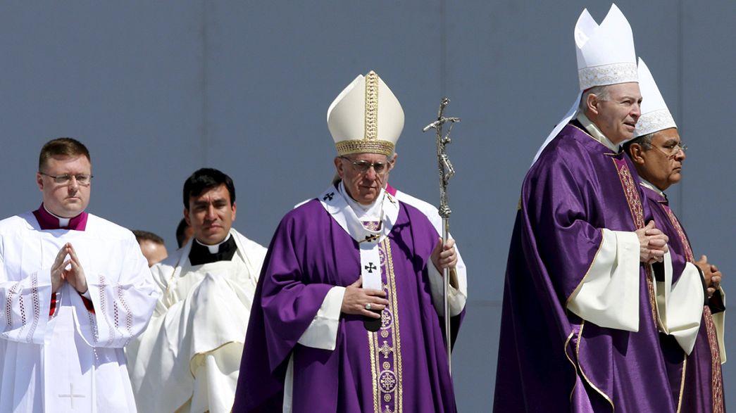 مبارزه با مواد مخدر، محور سخنرانی پاپ در مکزیک