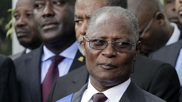 Ideiglenes elnöke van Haitinek