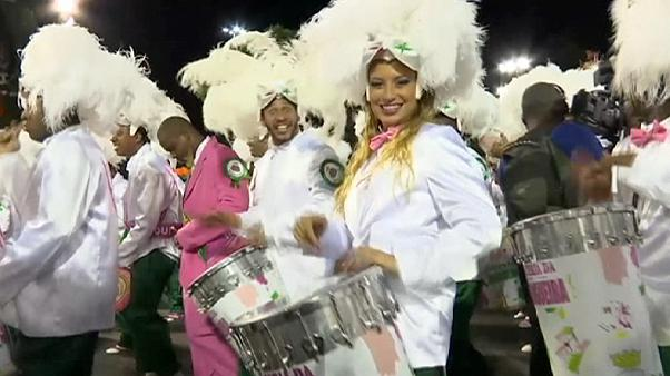 Fin del Carnaval de Río