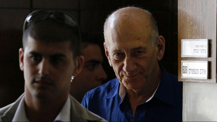 Former Israeli PM Ehud Olmert starts 19-month jail term for corruption