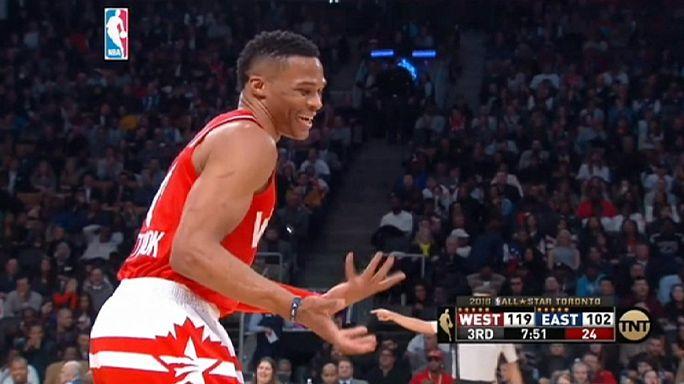 NBA All-Star'da basketbol şöleni