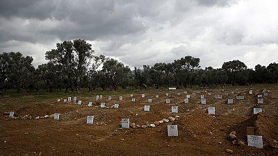 Lesbos ouvre un cimetière pour les réfugiés noyés