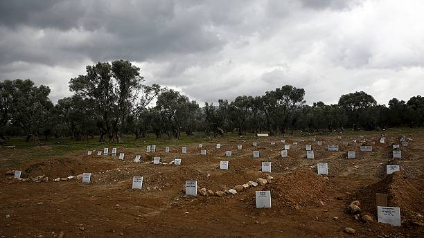 Lesbos opens new cemetery for refugee victims