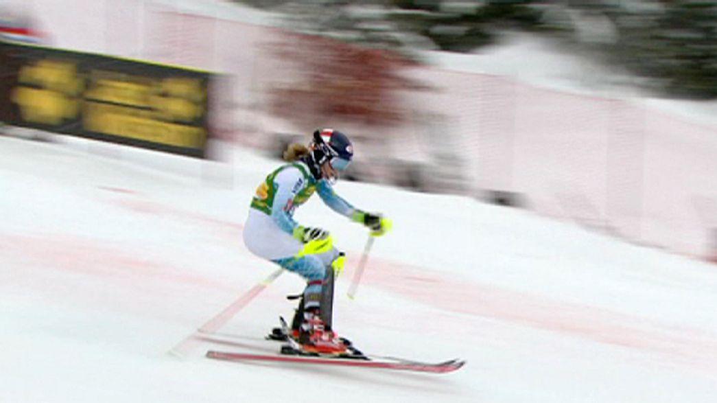 Alpine skiing: Shiffrin makes winning return after injury