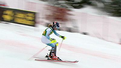 Alpine skiing: Shiffrin makes winning return after injury