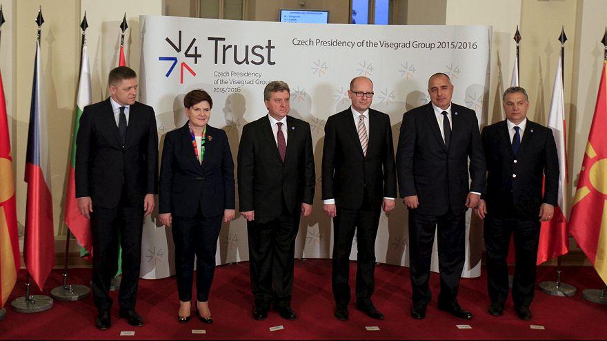 Visegrad'dan Schengen'i tehlikeye atan öneri