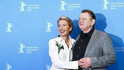 """Berlinale, Emma Thompson eroe contro il Nazismo in """"Alone in Berlin"""""""