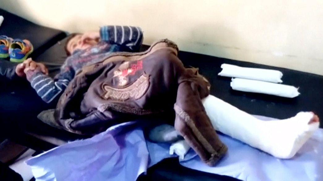 """Hôpitaux bombardés en Syrie : une """"violation du droit international"""" selon l'ONU"""