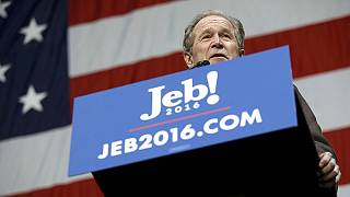 Bush is back: George W endorses brother Jeb in South Carolina