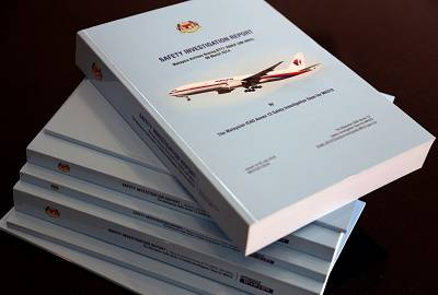 The 495-page MH370 safety report.