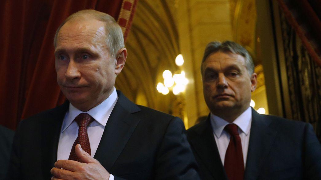 Vor Viktor Orbáns Moskaureise: Ungarn zwischen Russland und Europa