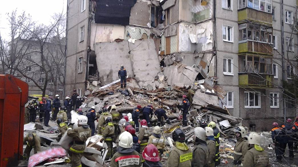 Russia: esplosione in un edificio a Yaroslavl, diverse persone sotto le macerie