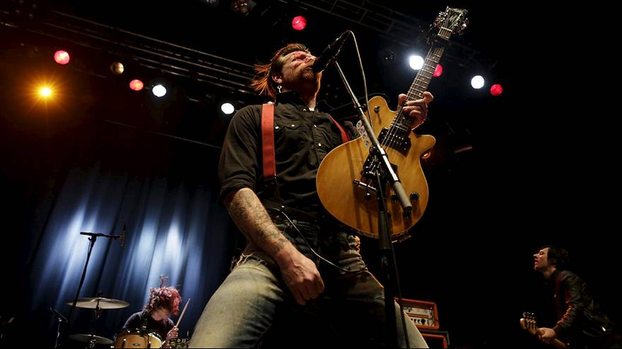 "Konzert als Therapie: ""Eagles of Death Metal"" zurück in Paris"