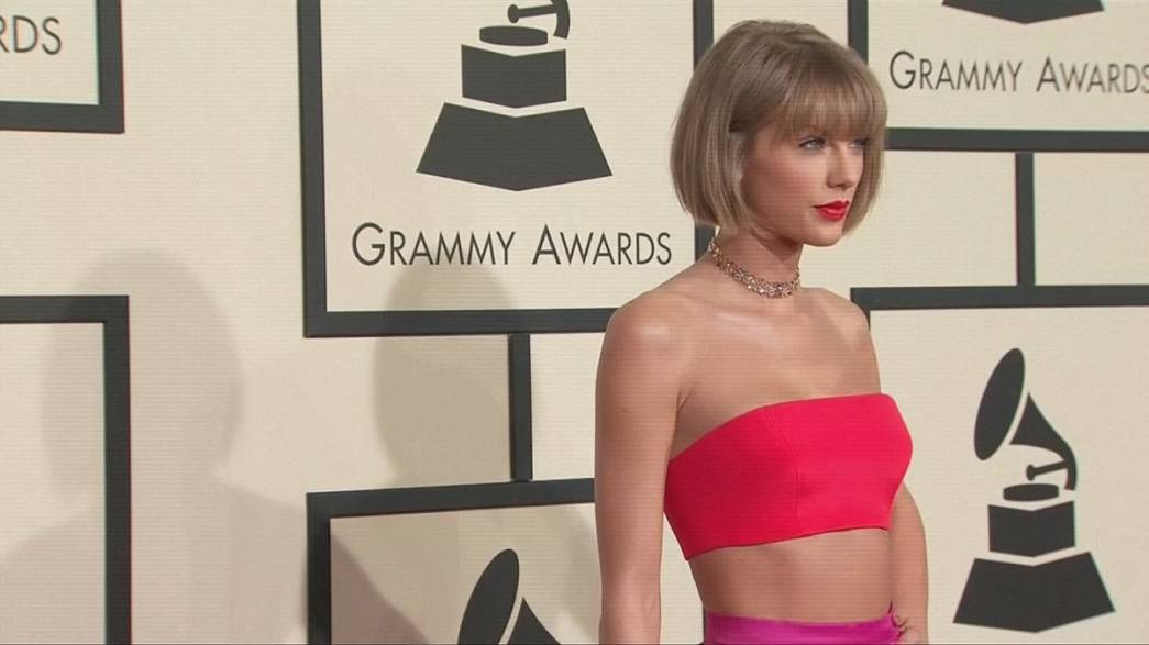 Taylor Swift at the double with Best Album Grammy Award