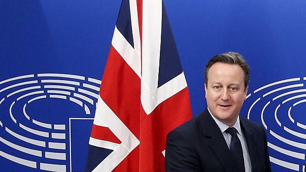 Cameron AB üyeliği konusunda Brüksel'de destek arayışına girdi