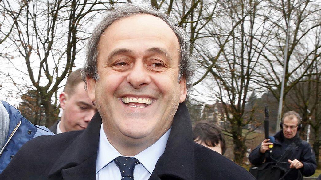 Platini se muestra optimista tras declarar ante el Comité de Apelación de la FIFA