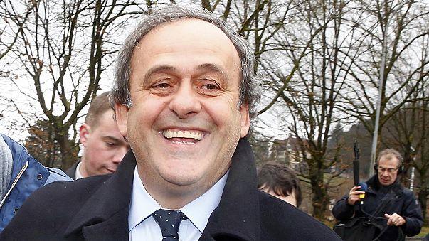 A tanúk Platini mellett szóltak