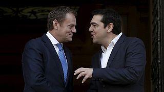 Tsipras und Tusk: Zwiegespräch in Athen