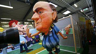 Blatter nas pegadas de Platini, na comissão de apelações da FIFA